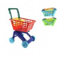Nákupní vozík 3 barvy v síťce
