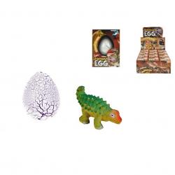 Dinosaurus líhnoucí se a rostoucí v krabičce