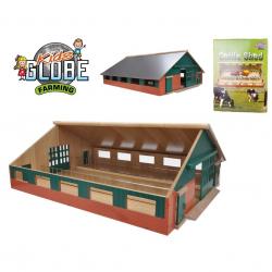Farma drewniana 73x43x26 cm w pudełku