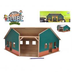 Farma drewniana ( naroźnik ) 40,5x100,x38 cm w pudełku
