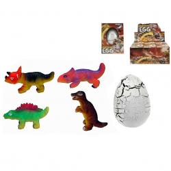 Dinosaurus líhnoucí a rostoucí JUMBO v krabičce
