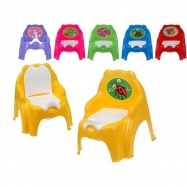 Židlička s vyjímatelným nočníkem 32x35x30cm 5barev