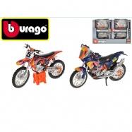 Bburago 1:18 RACE Moto Red Bull KTM 2druhy 12ks v DBX