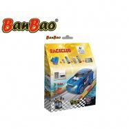 BanBao stavebnice RaceClub auto závodní Saturn zpětný chod 23ks v krabičce