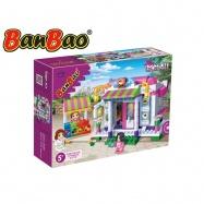 BanBao stavebnice Trendy City kavárna 338 ks + 3 figurky ToBees v krabičce