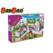 BanBao stavebnice Trendy City květinářství 252ks + 2 figurky ToBees v krabičce