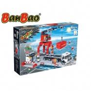BanBao stavebnice Transportation nákladní přístav 538 ks + 4 figurky ToBees