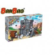 BanBao stavebnice Black Sword vězení 705 ks + 6 figurek ToBees