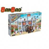 BanBao stavebnice Black Sword hradba 702ks + 6 figurek ToBees