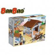 BanBao stavebnice Black Sword kovárna 235ks + 4 figurky ToBees v krabičce