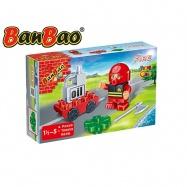 BanBao stavebnice Fire Young Ones figurka ToBees hasič s doplňky 4ks 18m+ v krabičce
