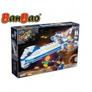 BanBao stavebnice Journey V vesmírná loď BB-133 na baterie se světlem 522ks + 3 figurky ToBees