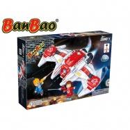 BanBao stavebnice Journey V vesmírná loď BB-132 na baterie se světlem 168ks + 2 figurky ToBees