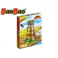 BanBao stavebnice Safari pozorovatelský posed 176ks + 2 figurky ToBees v krabičce