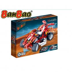 BanBao stavebnice Hi-tech auto racing 04 250 ks v krabičce