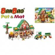 BanBao stavebnice Eco Farm Pat a Mat velká farma 541ks  v krabičce