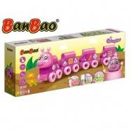 BanBao stavebnice Caterpillar Young Ones housenka tvary 43ks s hracím plánkem 18m+ v krabičce