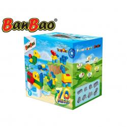 BanBao stavebnice Young Ones kostky velké 70 ks v krabičce