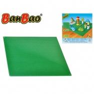 BanBao stavebnice základní deska 38,5x38,5cm zelená
