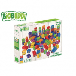BiOBUDDi stavebnice Learning To Build Young Ones 100ks 18m+ v krabičce