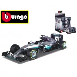 Bburago 1:43 RACE Mercedes F1 AMG Petronas v krabičke