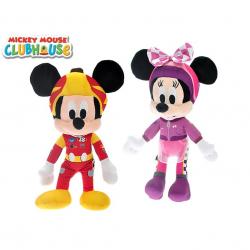 Mickey Mouse & Minnie plyšoví 40cm 2druhy 0m+
