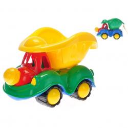 Auto sklápačka klaun 35cm 2barvy v sieťke