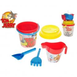 Zestaw do piasku Tom i Jerry 5 elementów