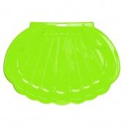 Pískoviště/bazén ve tvaru mušle 108x78x18cm zelené 0m+