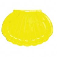 Pískoviště/bazén ve tvaru mušle 108x78x18cm žluté 0m+