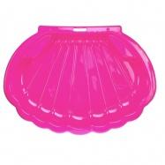 Pískoviště/bazén ve tvaru mušle 108x78x18cm růžové 0m+