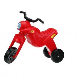 Plastikowy motor 61x44x19cm - czerwony
