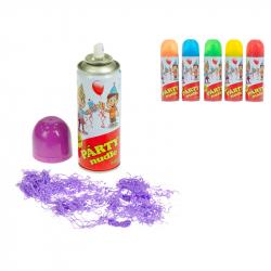 Párty rezance 250 ml v spreji 6 farieb