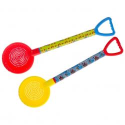 Plastikowe sitko 59,5cm. 3 wzory (czerwony, żółty)