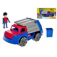 Auto nákladní popeláři s panáčkem v krabičce