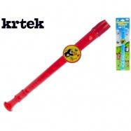 Krtkova flauta 33cm 2 farby na karte