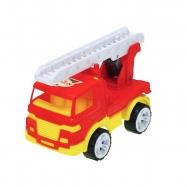 Auto hasičské 17cm se žebříkem volný chod