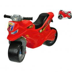 Motor plastikowy 68x48x29cm - czerwony