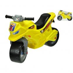 Motor plastikowy 68x48x29cm - żółty