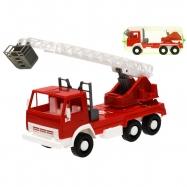 Auto hasiči se žebříkem 25cm volný chod v síťce