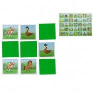 Pexeso Farma 64karet ilustrovaná zvířátka