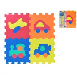 WIKY Puzzle piankowe Środki transportu 10 szt.
