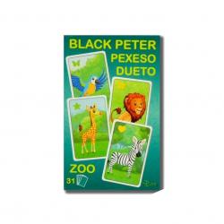 Čierny Peter / Pexeso / Dueto ZOO 3v1 7x10,5x1,5cm 31ks v krabičke