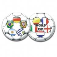 Míč 23cm World cup 10m+ v síťce