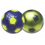 Lopta 22cm dizajn futbal 2barvy 10m + v sieťke