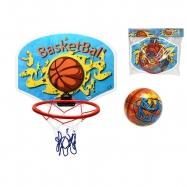 Basketbalový kôš 34x25,3cm s loptou v sáčku