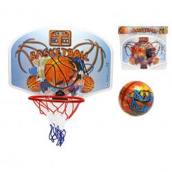 Basketbalový koš 41x31cm s míčem v sáčku