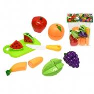 Krájecí ovoce 8ks s deskou a nožem v sáčku