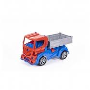 Auto nákladní 48cm volný chod 3barvy v síťce