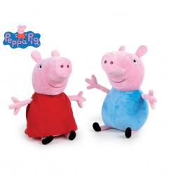 Peppa Pig - Pepina/Tom plyšoví 26cm 0m+